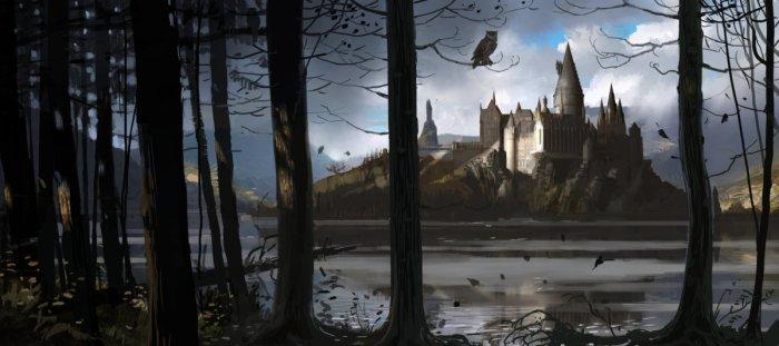HogwartsCastle_WB_F4_HogwartsThroughTheTrees_Illust_100615_Land.jpg