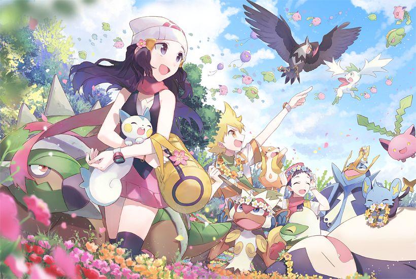 Reseña Pokémon Diamante Y Perla Diario De Friki
